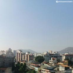 Nevoeiro se dissipa no Rio de Janeiro