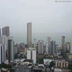 Tempo fica fechado em João Pessoa e no Recife nesta quinta