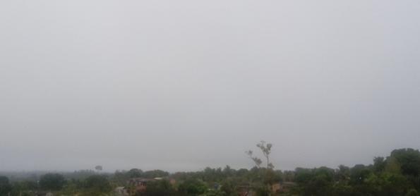 Ar seco cobre grande parte do País