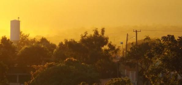 Tempestade em Belém e recorde de calor em Palmas