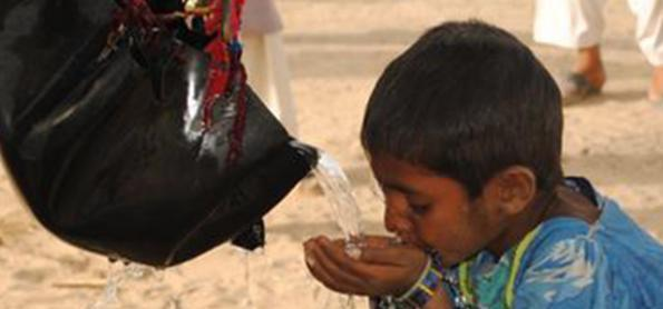 O Paquistão está secando