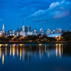 São Paulo: da meia-noite até o amanhecer