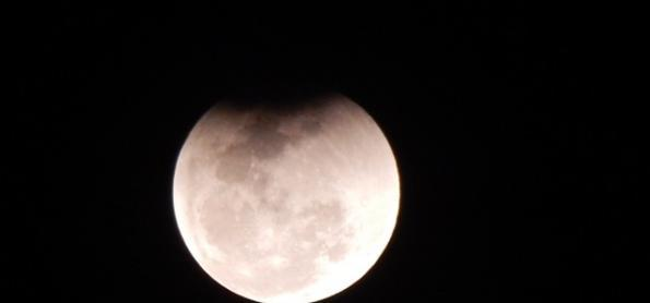Clicadas do eclipse lunar de julho de 2018