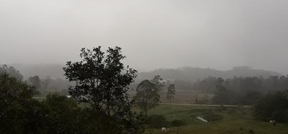 Litoral de Santa Catarina terá mais chuva até domingo