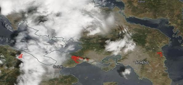 Como explicar a onda de calor no Hemisfério Norte?