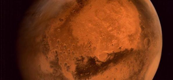 Marte pode ter lago com água líquida