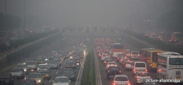 China tem recuo nas emissões de CO2