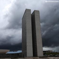Brasília já tem o segundo abril mais chuvoso em 57 anos