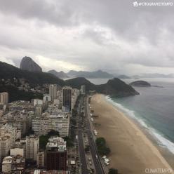 Fim de semana com ar frio no Rio de Janeiro