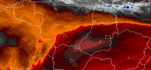 Ar muito seco no interior do Brasil