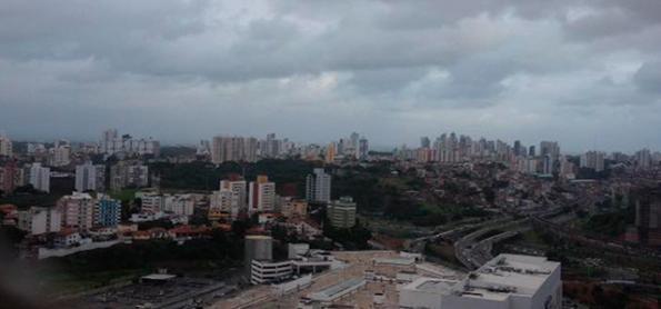 Chuva será forte em áreas da Bahia nesta segunda-feira
