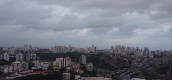 Bahia terá novas pancadas de chuva nesta sexta-feira