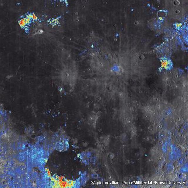 post_Nasa confirma existência de gelo na Lua