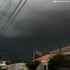 Risco de chuva forte no Sudeste