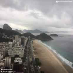 Rio de Janeiro com muita umidade e chuva