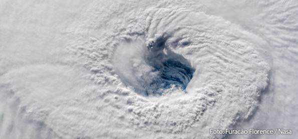 Furacão Florence ainda muito perigoso mesmo sendo categoria 2
