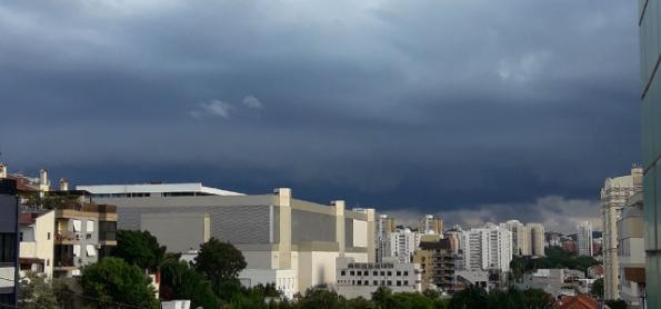 Região Sul fica em alerta para temporais nesta terça-feira