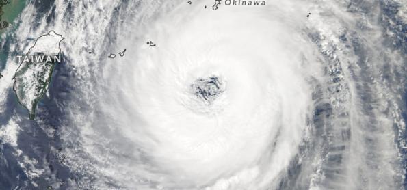 Tufão Trami ameaça o Japão