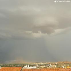 Madrugada com muita chuva em Brasília