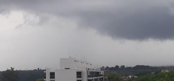 Chuva volumosa no estado do Rio de Janeiro