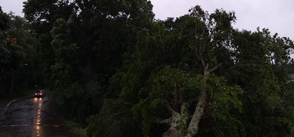 Chuva muito volumosa sobre Goiás e Minas Gerais