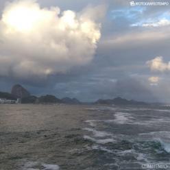 Muita chuva sobre a Região Norte do Brasil