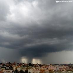 Mais chuva sobre o Nordeste