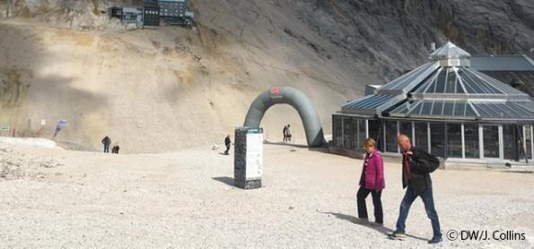 Os efeitos das mudanças climáticas nos Alpes Bávaros