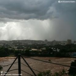 Previsão indica chuva forte e volumosa para MG e ES