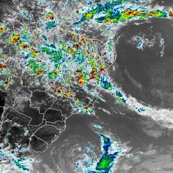 VCAN e ciclone extratropical atuam na costa brasileira