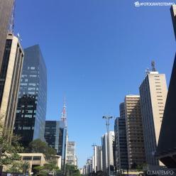 Dia de sol e tempo firme em São Paulo