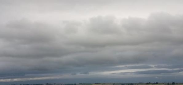 Calor e temporais no Sul do BR no fim de semana