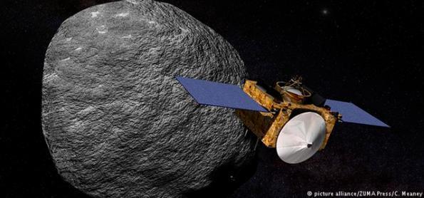 Sonda espacial da Nasa chega a asteroide