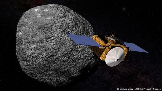 post_Sonda espacial da Nasa chega a asteroide