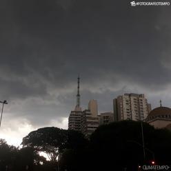Temporais na Grande São Paulo até a noite