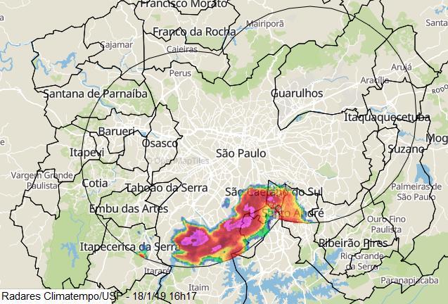 Grande SP chuva 18 1-19 16h17