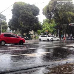 Risco de chuva forte em Belém, em Macapá e em Boa Vista