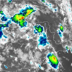Balanço parcial da chuva de fevereiro nas capitais do Sudeste