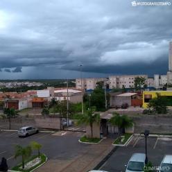 6ªf de chuva forte e volumosa no Centro-Oeste do Brasil