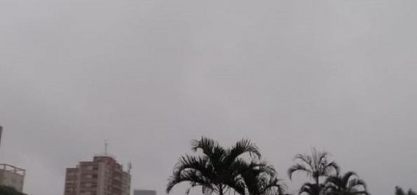 Chuva diminui em SP neste domingo
