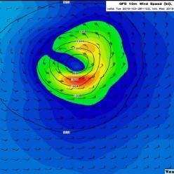 Um novo ciclone tropical na costa do Espírito Santo?