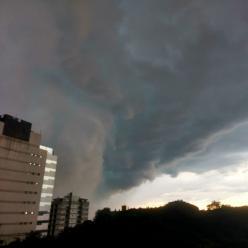 Risco de temporais na Região do Sul do Brasil
