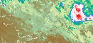 Depressão tropical se formou na costa entre ES e sul da BA