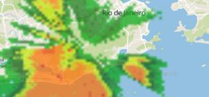 RJ fecha o verão com chuva e queda de temperatura