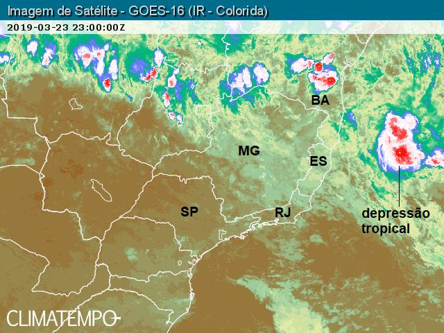 Depressão tropical ES - 23-3-19_satelite_23h00Z_satelite_1