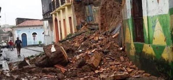 Chuva extrema causa muitos prejuízos na capital do Maranhão