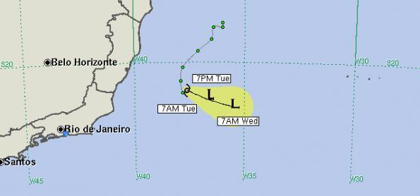 Iba deve continuar como tempestade tropical nesta terça