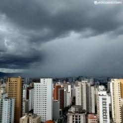 Fortes pancadas de chuva pelo Brasil nesta quarta-feira