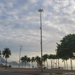 Tempo muda no Rio de Janeiro com passagem de frente fria