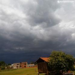 Alerta de temporal no Rio Grande do Sul